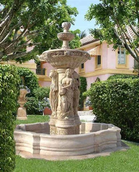 amazing outdoor decorative water fountains water fountains