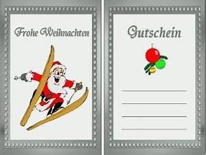 Gutschein Skifahren Vorlage : gutschein weihnachten ~ Markanthonyermac.com Haus und Dekorationen