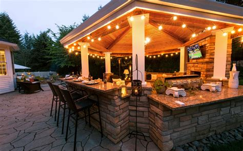 kitchen island counter stools 20 gazebos in outdoor living spaces paradise restored