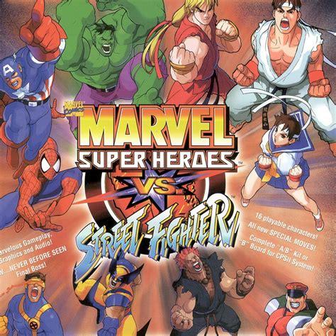 Marvel Super Heroes Vs Street Fighter Play Game Online