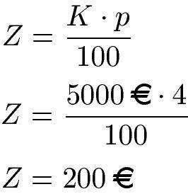 Zinsen Berechnen Tage Formel : zinsen berechnen ~ Themetempest.com Abrechnung