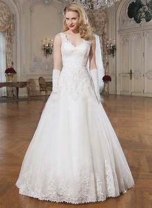 elegant a line wedding dresses 2016 hot sale appliques With beaded a line wedding dresses