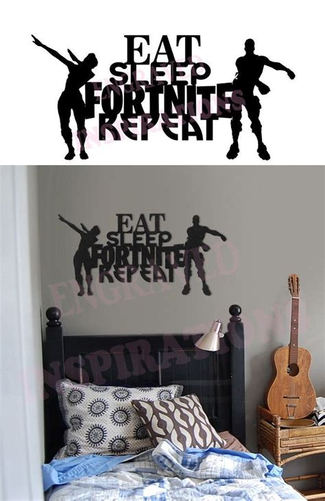 Bedroom Decor Sale by Sale Fortnite Gamer Wall Decor Wood Decal Sign