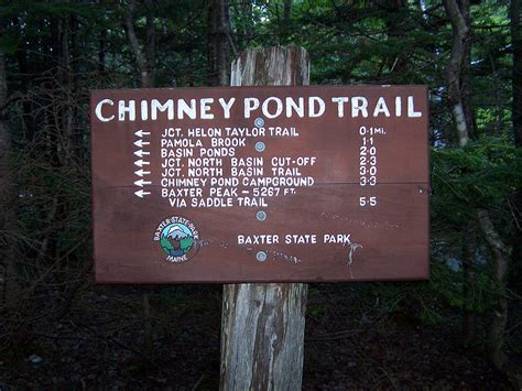 Chimney pond trail baxter state park. Hiking in the White Mountains and Adirondacks: Mount Katahdin