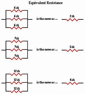 Finding Equivalent Resistance Parallel Circuit