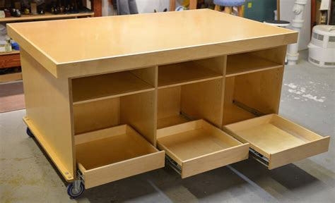 Ken's Mobile Torsion Box Assembly Table  The Wood Whisperer
