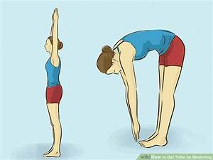 3 Ways to Get Taller by Stretching - wikiHow