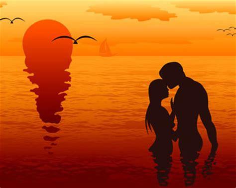 loving couple silhouette vector ai svg eps vector