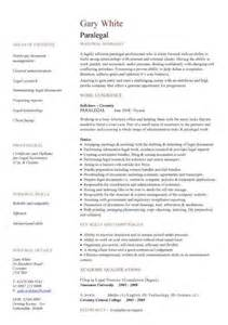 paralegal resume sle experience resumes
