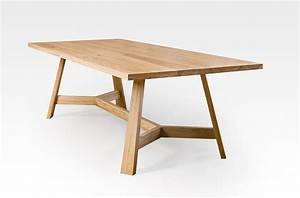 Blackbutt Table with splayed legs - Lacewood Furniture