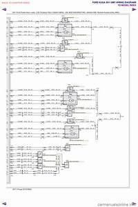 Ford Kuga 2011 1 G Wiring Diagram Workshop Manual