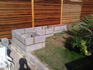 Concrete garden wall google search landscape for Garden block wall