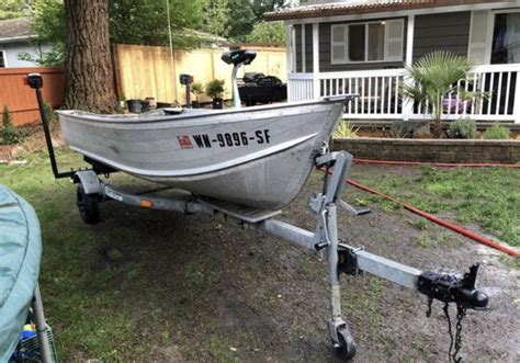 Boat Trailers For Sale Everett Wa by 12 Aluminum Boat Trailer Motor Bamini Roof Top For Sale