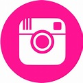 Deep pink instagram 4 icon - Free deep pink social icons