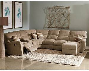 Lane sectional sofa lane vivian transitional 3 piece for Lane sectional sofa with recliner