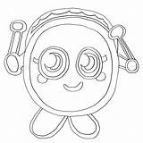 Moshi Monsters Monster Coloring Teller Fortune Printable Colouring Moshlings Templates Template Getcolorings Getcoloringpages Bestcoloringpagesforkids sketch template