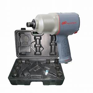 3  4 U0026quot  Air Impact Wrench Kit With Sockets  Ingersoll Rand