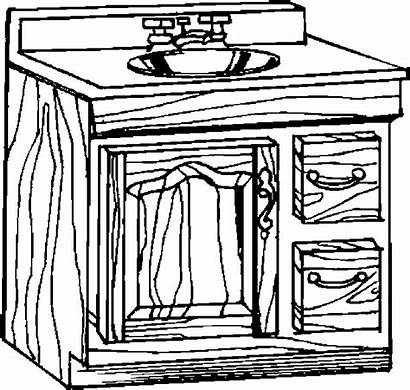 Sink Bathroom Coloring Pages