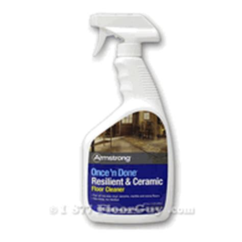 Resilient Floor Cleaner by Armstrong Once N Done Resilient Ceramic Floor Cleaner