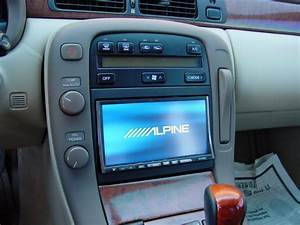 How Sc400 Install Aftermarket Head Unit  Oem