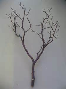 decorating ideas casual image of diy dark brown tree branches decoration for dining table