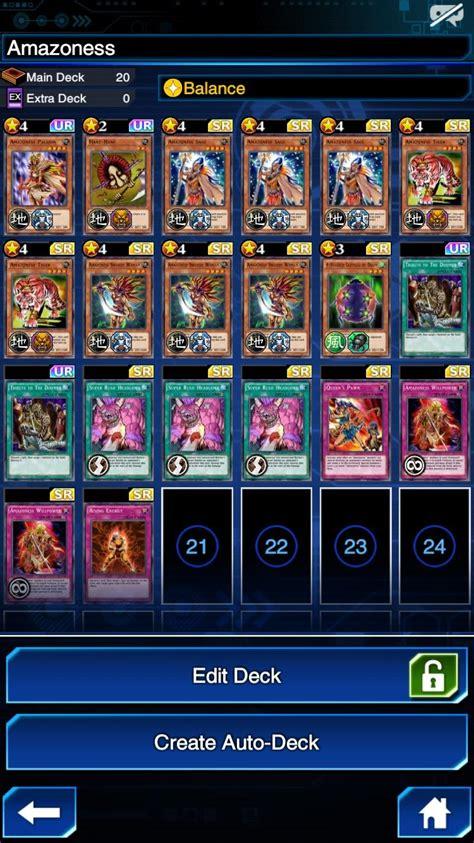 competitive legend 3 amazoness deck duellinks