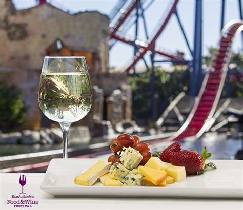 busch gardens food and wine the thrills enjoy corksandcoasters as busch