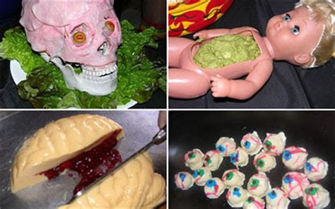 Pumpkin Throwing Up Guacamole by Gold Star Daily World News Online Simple Halloween Party