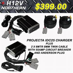Projecta Idc25 Charger Anderson Quick Connect With 8mm