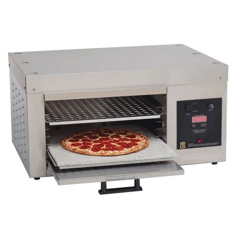countertop pizza oven gold medal 5554 countertop pizza oven single deck 120v