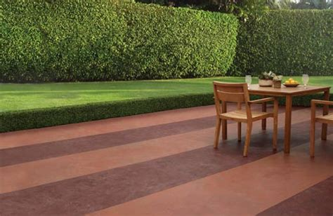 customize concrete patios with color