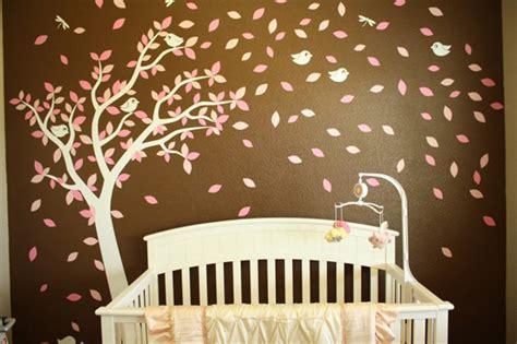 habitaciones de bebes decoradas  arboles decoideasnet