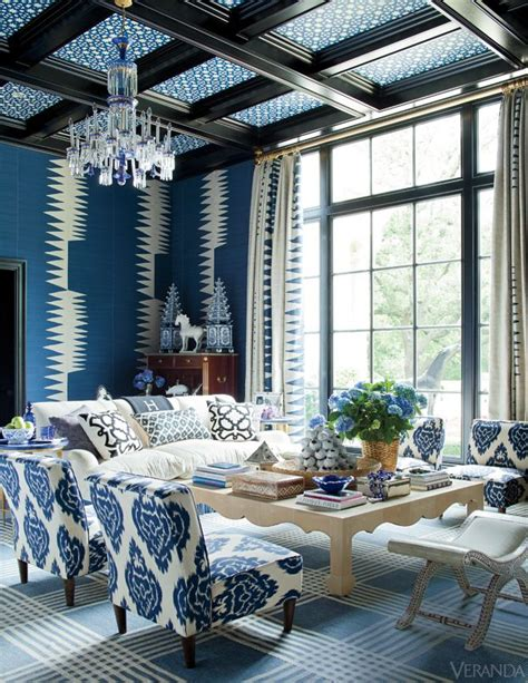 Beautiful Rooms Blue And White by Unique Blue And White Living Room Design Ideas