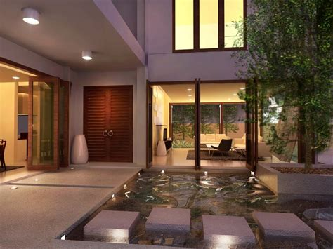 interior courtyard house plans interior courtyards