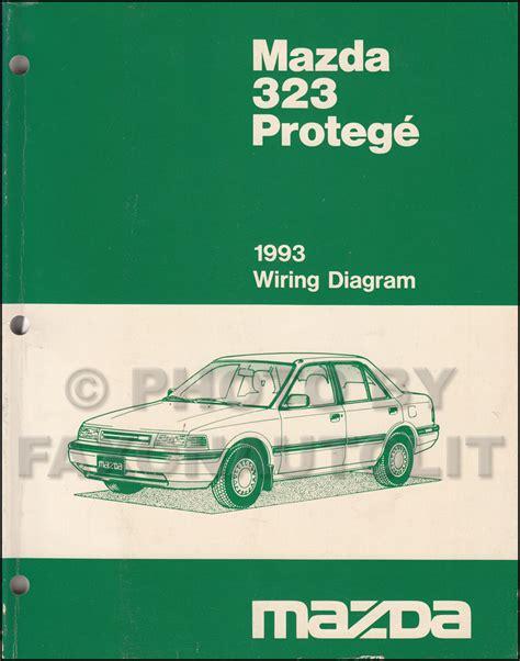 Mazda Protege Repair Shop Manual Original