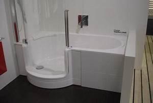 Sitzbadewanne Mit Dusche : badewannen mit duschen integriert fliesen fieber ~ Frokenaadalensverden.com Haus und Dekorationen