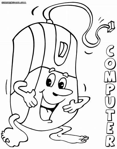 Computer Coloring Pages Mouse Colorings