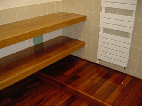 plancher teck salle de bain parquet teck salle de bain mon parquet