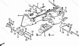 Honda Atv 1984 Oem Parts Diagram For Frame