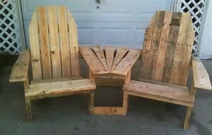 Ana White Double Pallirondack Settee - DIY Projects