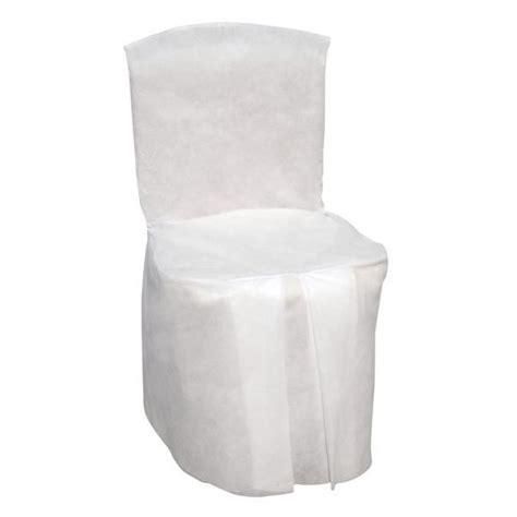 housse chaise pas cher jetable housse de chaise papier pas cher