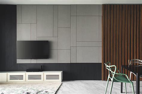 design ideas  simple contemporary feature walls