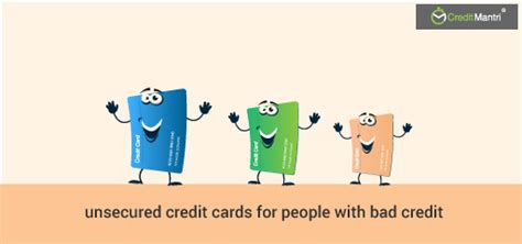 how to get an unsecured how to get an unsecured credit card with bad credit history