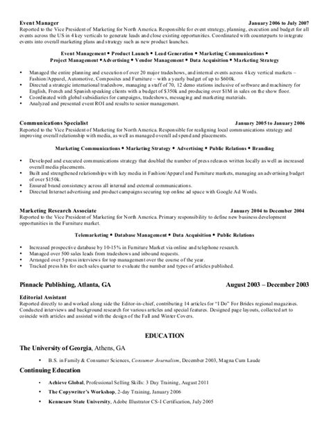 Vice President Marketing Communications Resume by Vidakovic Resume Creative And Seasoned Marketing