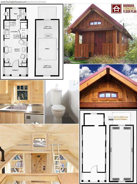 marmara tiny house design furnished    lights