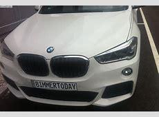 BMW X1 2015 Fotos zeigen F48 mit M SportPaket in Weiss