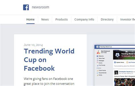 Trending World Cup on Facebook   Facebook Newsroom