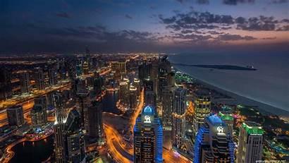 4k Dubai Night Emirates Uhd Arab Marina