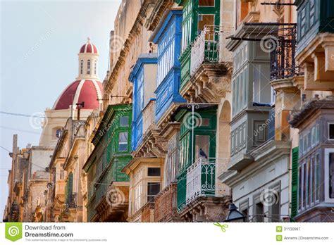 rue 224 la valette malte photographie stock libre de droits image 31130987