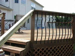Klo Mit Wasserstrahl : decorative deck spindles hardwood deck railings with decorative metal balusters in 301 ~ Sanjose-hotels-ca.com Haus und Dekorationen